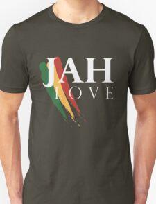 Jah Love ( WHITE ) Unisex T-Shirt