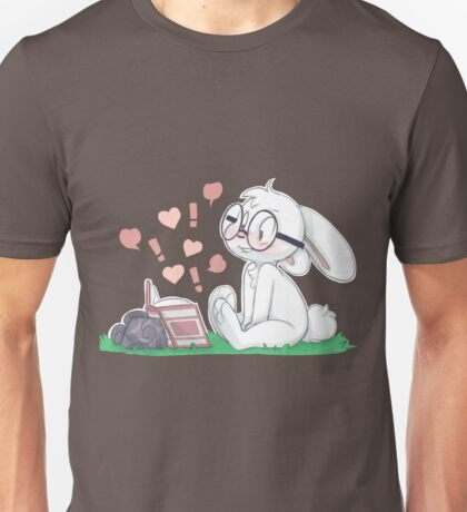 Dirty Bunny - Hearts and Exclamation Marks Unisex T-Shirt
