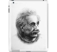 Albert Eistein Pencil Portrait iPad Case/Skin