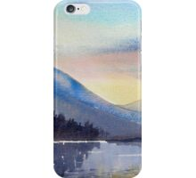 """Evening Falls on Lake Windermere"" iPhone Case/Skin"