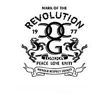 Mark Of The Revolution Photographic Print
