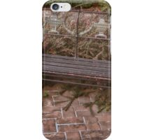 Bench Scape iPhone Case/Skin