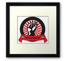 OG Fist Revolutionary Framed Print