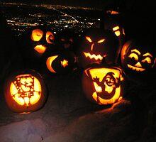 Jack o' Lanterns over Boulder by Paul Magnanti