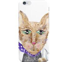 Matrix cat iPhone Case/Skin