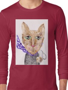 Matrix cat Long Sleeve T-Shirt