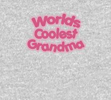 Worlds Coolest Grandma Womens Fitted T-Shirt