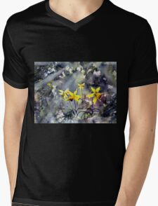Daffodils of Hope Mens V-Neck T-Shirt