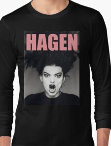 Nina Hagen Long Sleeve T-Shirt