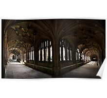 Cloisters Panorama Poster