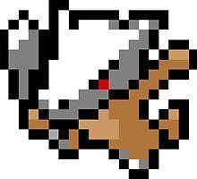 Pokemon 8-Bit Pixel Marowak 105 by slr06002