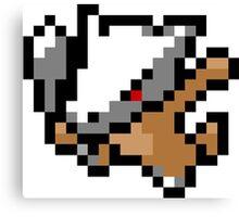 Pokemon 8-Bit Pixel Marowak 105 Canvas Print