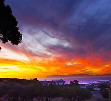 Sunset False Bay by CrismanArt
