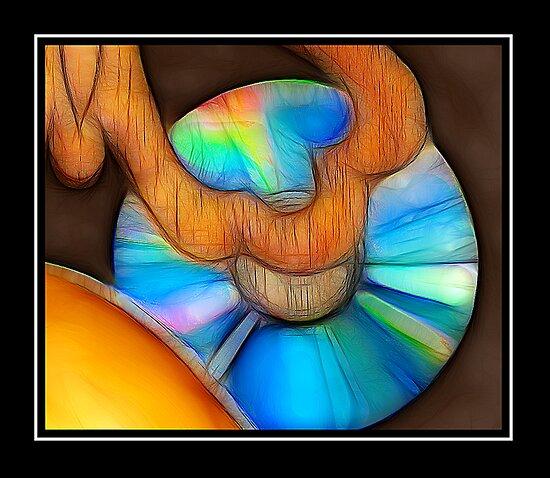 DVD Art Piece by glink