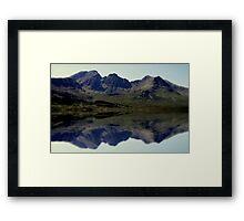 skye,scotland Framed Print