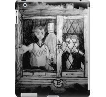 Looking iPad Case/Skin