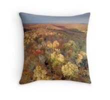 North Shore Foliage Throw Pillow