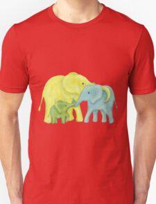 Elephant Family of Three T-Shirt