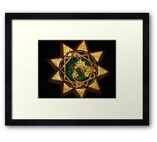 One Religious World Order Framed Print