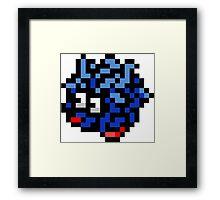 Pokemon 8-Bit Pixel Tangela 114 Framed Print