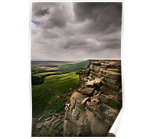 Stanage Edge, Derbyshire Poster