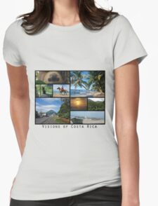 Visions of Costa Rica Womens Fitted T-Shirt
