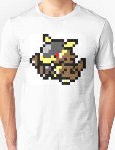 Pokemon 8-Bit Pixel Kangaskhan 115 Unisex T-Shirt