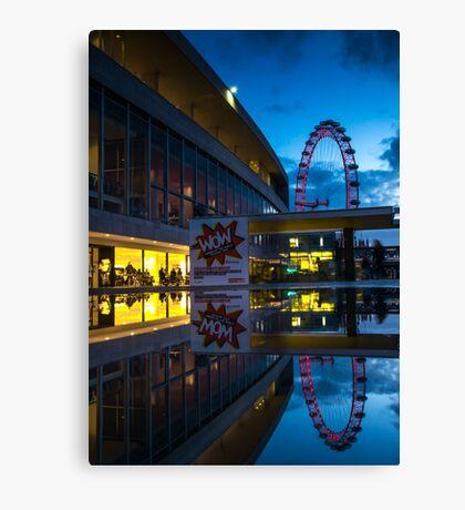 Oscillation - London Lights Canvas Print