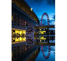 Oscillation - London Lights Photographic Print