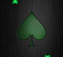 Android Ace of Spades by heliconista