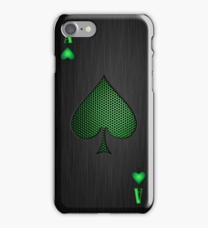Android Ace of Spades iPhone Case/Skin