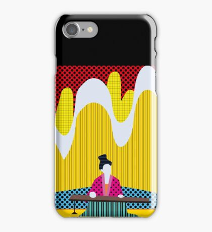 Chinese Woman Pop Art iPhone Case/Skin