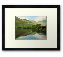ol'bridge..scotland Framed Print