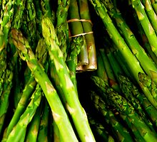 Asparagus by Annie Wood