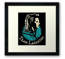 Team Lagertha - Vikings Framed Print
