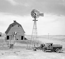 Abandoned Farm, 1936 by historyphoto
