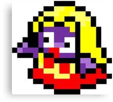 Pokemon 8-Bit Pixel Jynx 124 Canvas Print