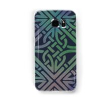 Midnight Celtic Knot Square Samsung Galaxy Case/Skin