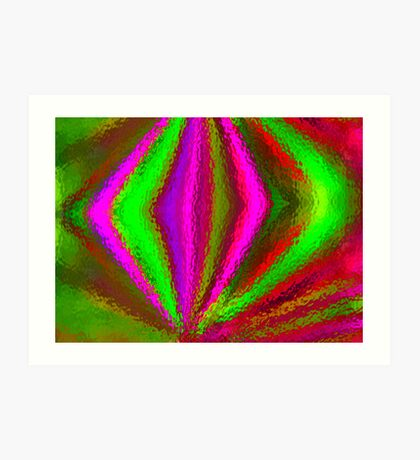 Multi Colored Eggbeater Art Print