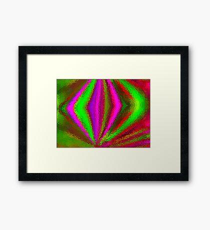 Multi Colored Eggbeater Framed Print