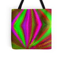 Multi Colored Eggbeater Tote Bag