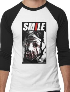 Smile! Men's Baseball ¾ T-Shirt
