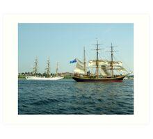 Ships That Pass... Art Print