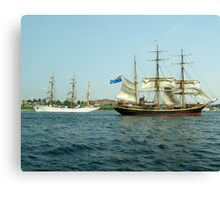 Ships That Pass... Canvas Print