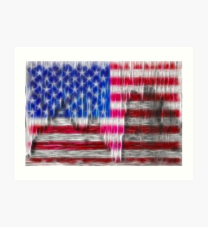 Old Glory Art Art Print