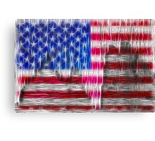 Old Glory Art Canvas Print