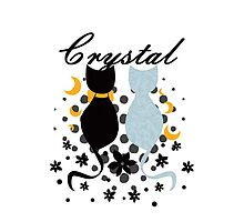 Crystal Cats by Nados