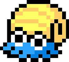 Pokemon 8-Bit Pixel Omanyte 138 by slr06002