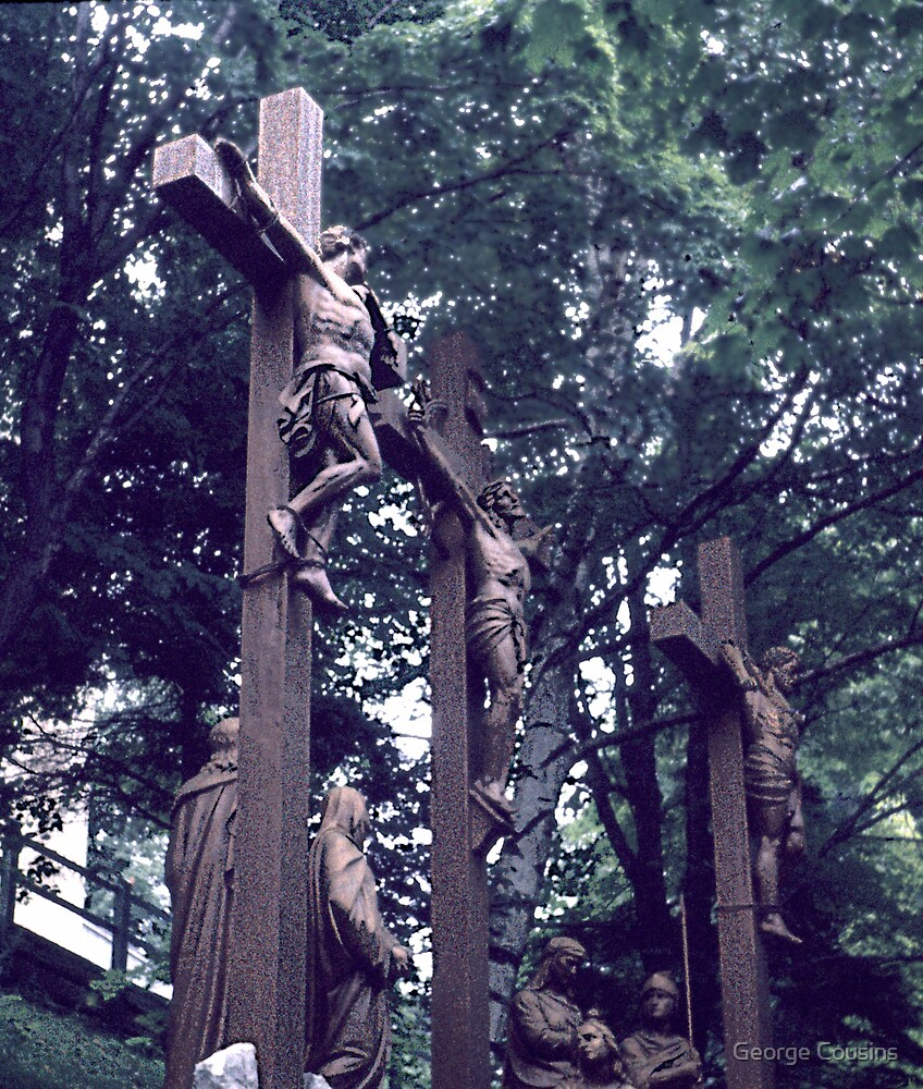 Stations of the Cross (2) by George Cousins