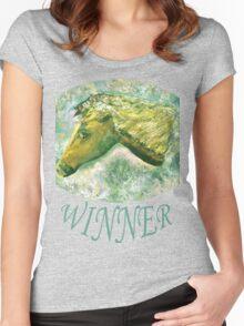 Winner 5 Women's Fitted Scoop T-Shirt